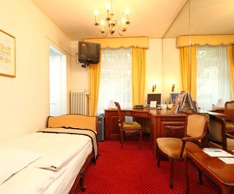 Схема расположения отеля.