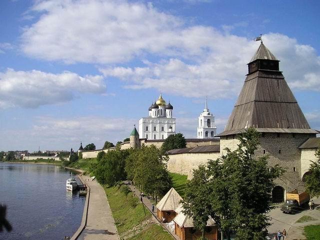 ПСКОВ Вид на Кремль - Фото 7819/10
