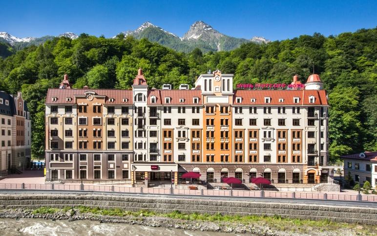 Роза хутор официальный отели